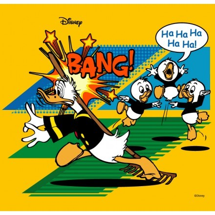 Ο Donald Duck χτύπησε!