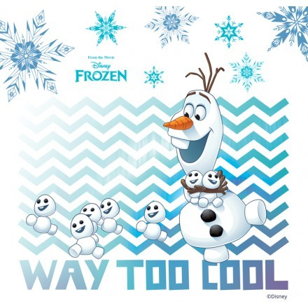 Way too cool, Olaf