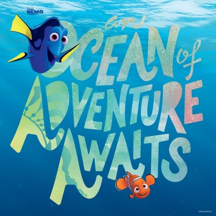 The ocean of adventures awaits, Finding Dory