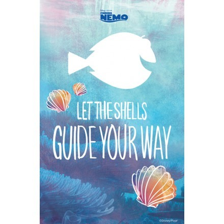Let the shells guide, Finding Dory