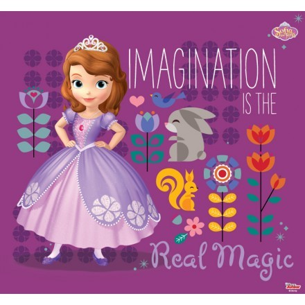 Imagination is the real magic, Sofia the first