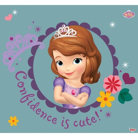 Confidence is cute, Sofia The First!