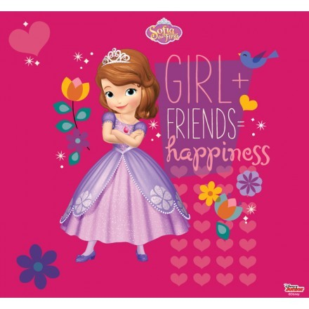Girl and Friends, happiness!