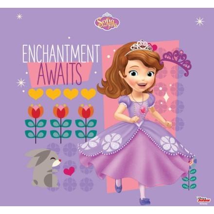 Enchantment awaits, Sofia the first!
