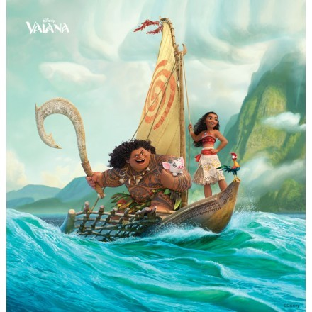 Η Vaiana και ο Maui στη θάλασσα!