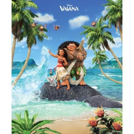 Η Vaiana και ο Maui στo νησί!