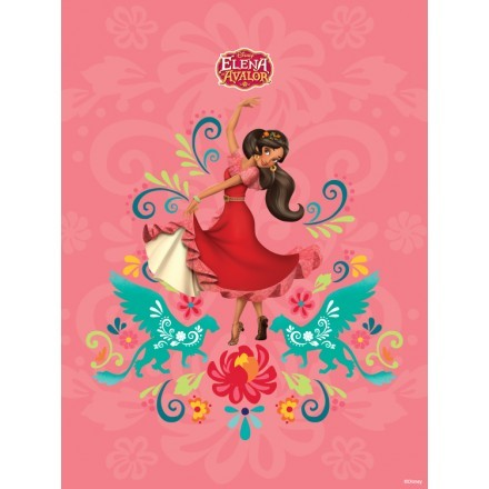 Elena of Avalor is dancing