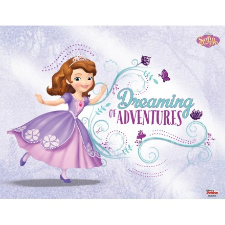 Dreaming of Adventures, Sofia the first!