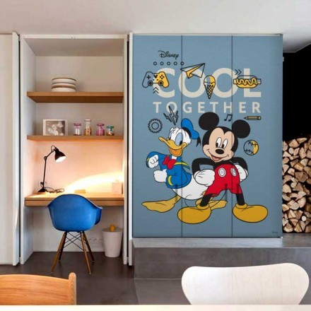 Cool together!Mickey Mouse