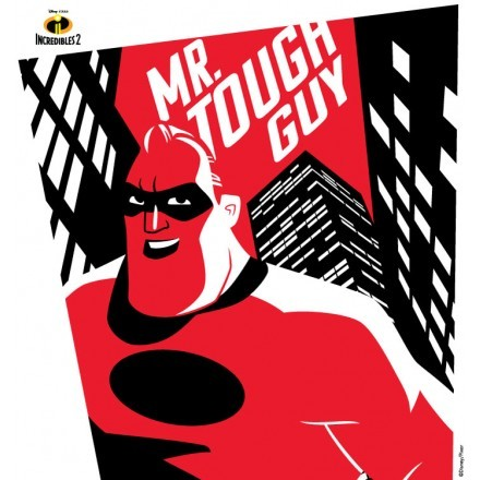 Mr Tough Guy, The Incredibles!