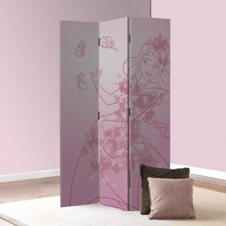 Η Πριγκίπισσα Αυγή σε ροζ φόντο
