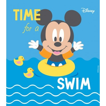 Time for a swim, Mickey Mouse