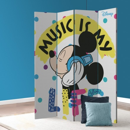 Music is my life,Mickey Mouse