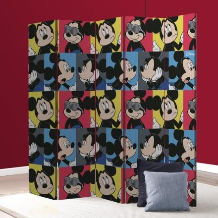 Πολλά προσωπάκια του Mickey Mouse