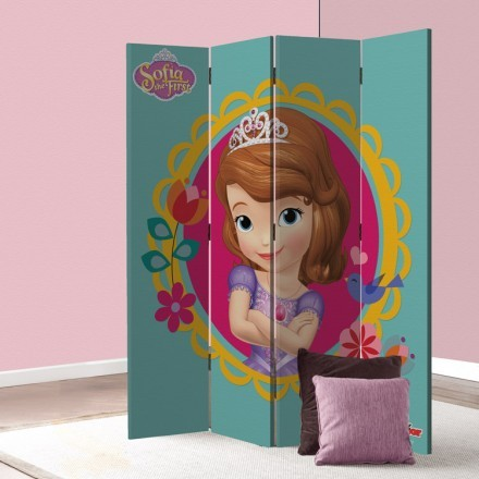 Sofia the first in flowers