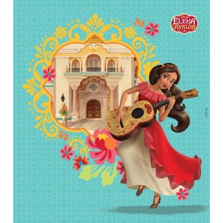 Η Έλενα του Άβαλορ με την κιθάρα της