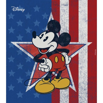 Mickey Mouse with star
