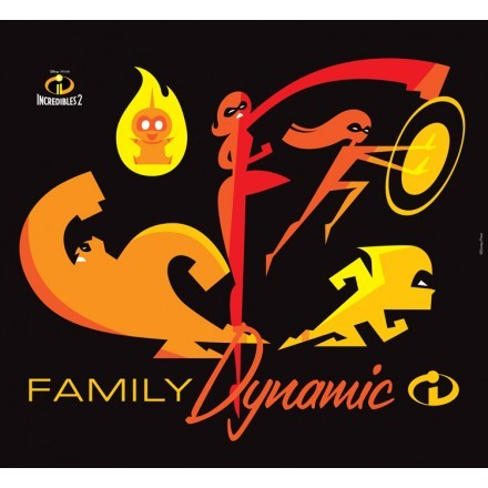 Family Dynamic, The Incredibles!