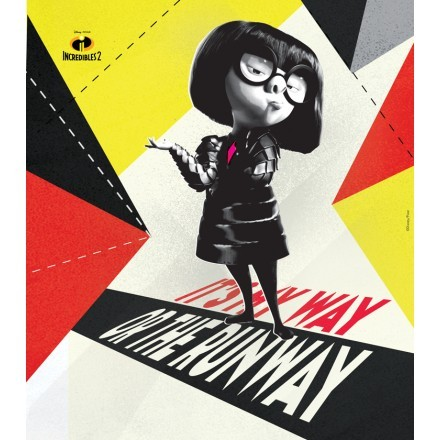 It is my way or the runway, Edna Mode!