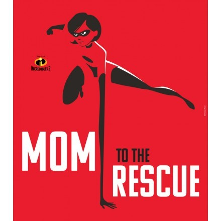 Mom to the rescue!