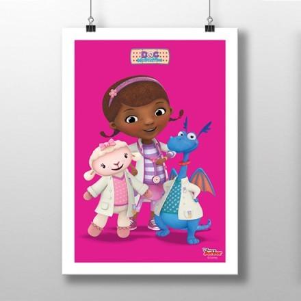 Η Μικρή γιατρός  με τους βοηθούς της!