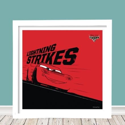 Lightning strikes , Cars