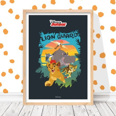 Lion Guard is running!