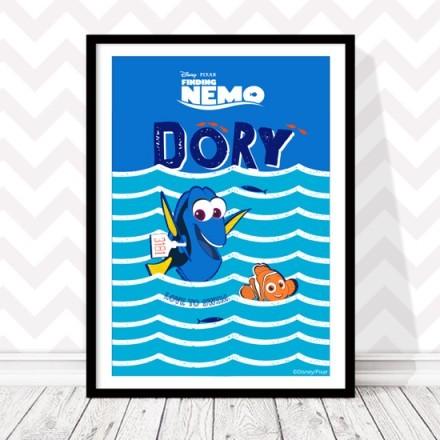 Αγαπώ το κολύμπι με τον Nemo και την Dory!