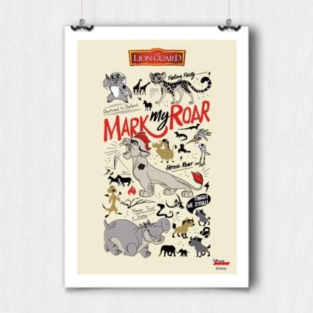 Mark my roar, Lion Guard