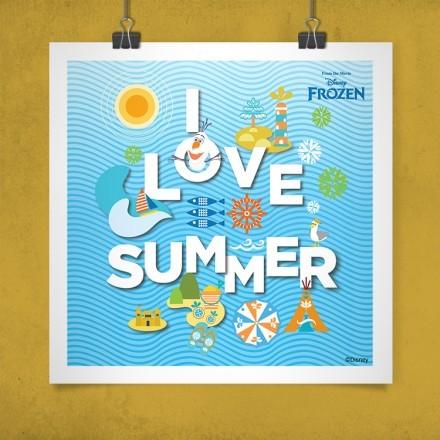 Αγαπώ το καλοκαίρι, Frozen!