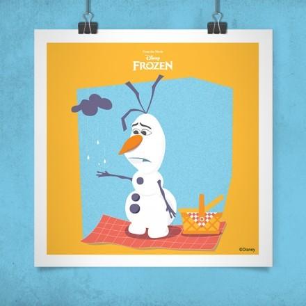 Ο Λυπημένος Όλαφ, Frozen!