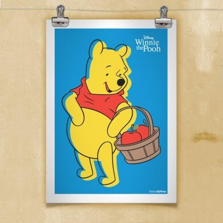 Ο Winnie με μήλα!