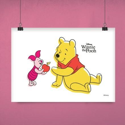 Ο Winnie και ο καλύτερος φίλος του το Γουρουνάκι!
