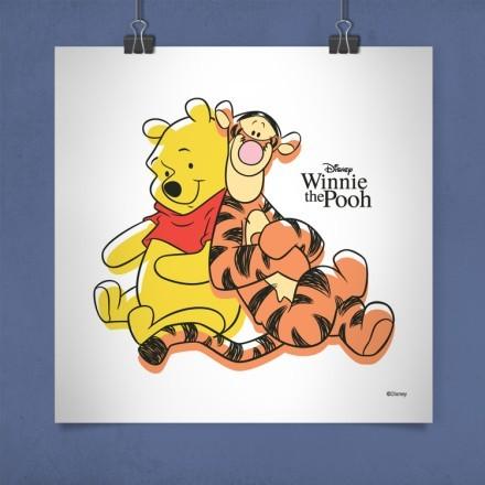 Ο Winnie και ο Τίγρης περνάνε όμορφα!