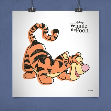 Ο Τίγρης, Winnie the Pooh!
