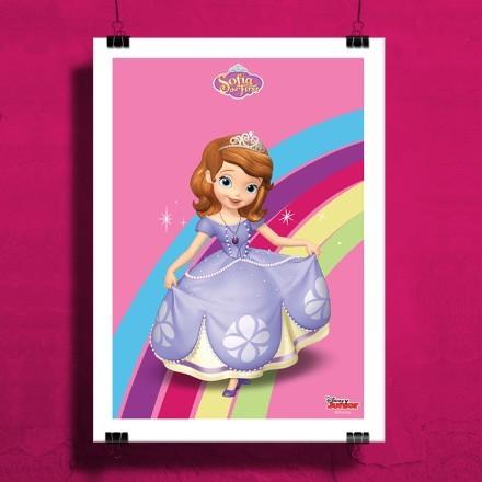 Η Πριγκίπισσα Σοφία και ένα ουράνιο τόξο!