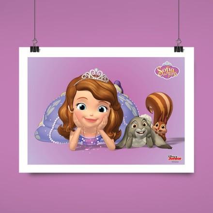 Σοφία η Πριγκίπισσα με ένα σκιουράκι!