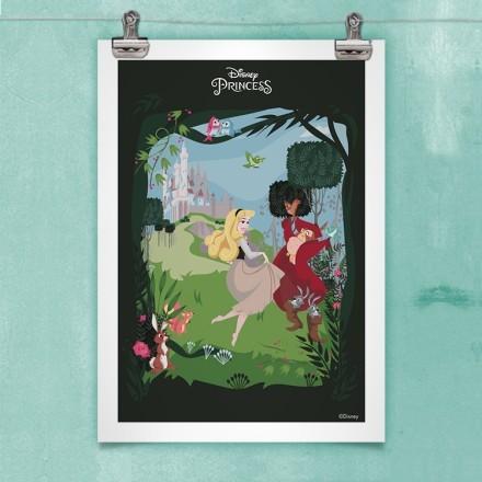 Η Πριγκίπισσα Αυγή με τους φίλους της από το δάσος!
