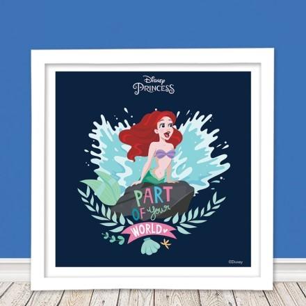 Part of your world, Little mermaid Ariel!