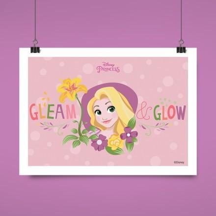 Gleam and glow, Rapunzel!
