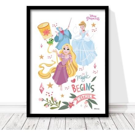 Magic begins within, Rapunzel & Cinderella
