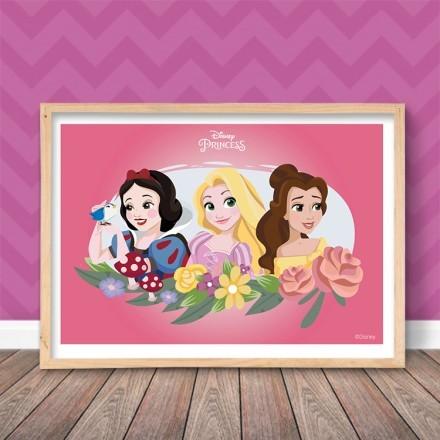 Οι Πριγκίπισσες Χιονάτη, Ραπουνζέλ και Μπέλ!