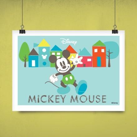 Ο Μίκυ Μάους και τα σπιτάκια!