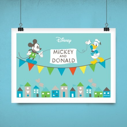 O Μίκυ Μάους και ο Ντόναλντ Ντάκ!