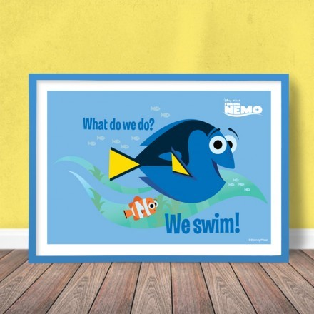 What we do, we swim, Finding Dory!
