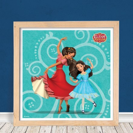Elena of Avalor and her sister!