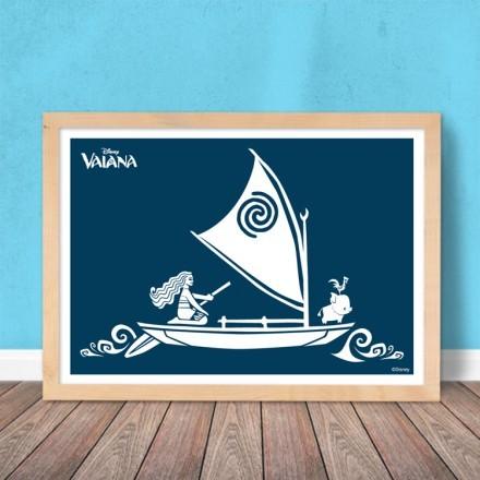Η Βαϊάνα στο πλοίο!