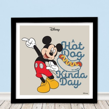 A hot dog kind a day, Mickey Mouse