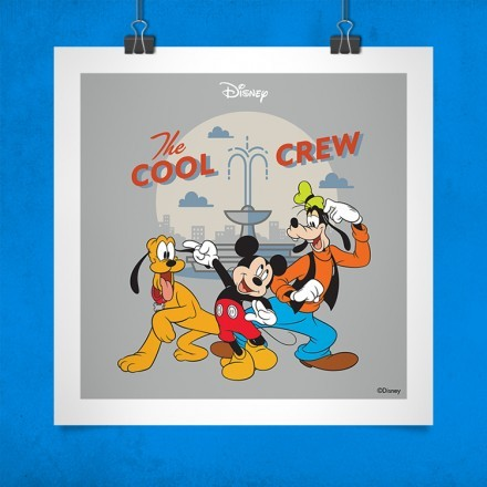 The cool crew, Mickey Mouse!!