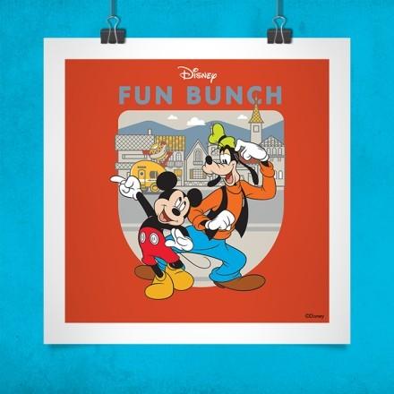 Fun Bunch, Mickey Mouse!!